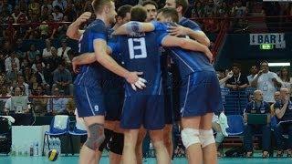 06-06-2014: Il punto della vittoria azzurra sulla Polonia in World League a Bari