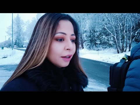 Crazy Snow week in Oslo    Daily Routine    Indians in Norway