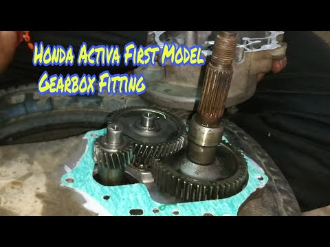 Honda Activa First Model gearbox Fitting | Gajanan Auto