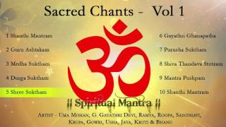 Sacred Chants Vol 1