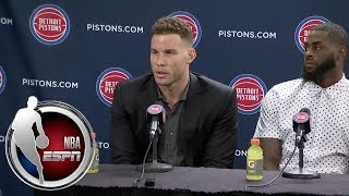 Blake Griffin on trade to Pistons: I found out when everyone else found out   ESPN