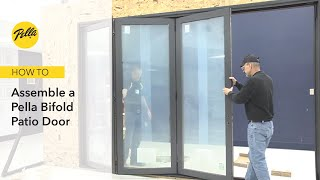 Pella Bifold Patio Door Assembly and Installation