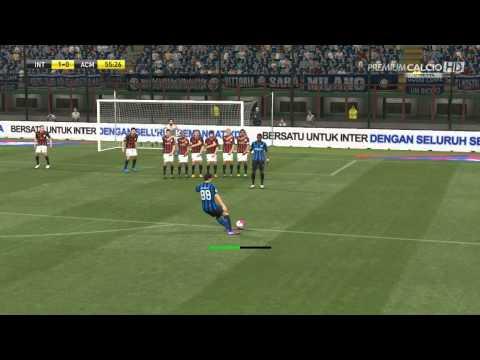 Inter VS Milan 4-0 Skills Jovetic/Hernanes/Icardi PES2015