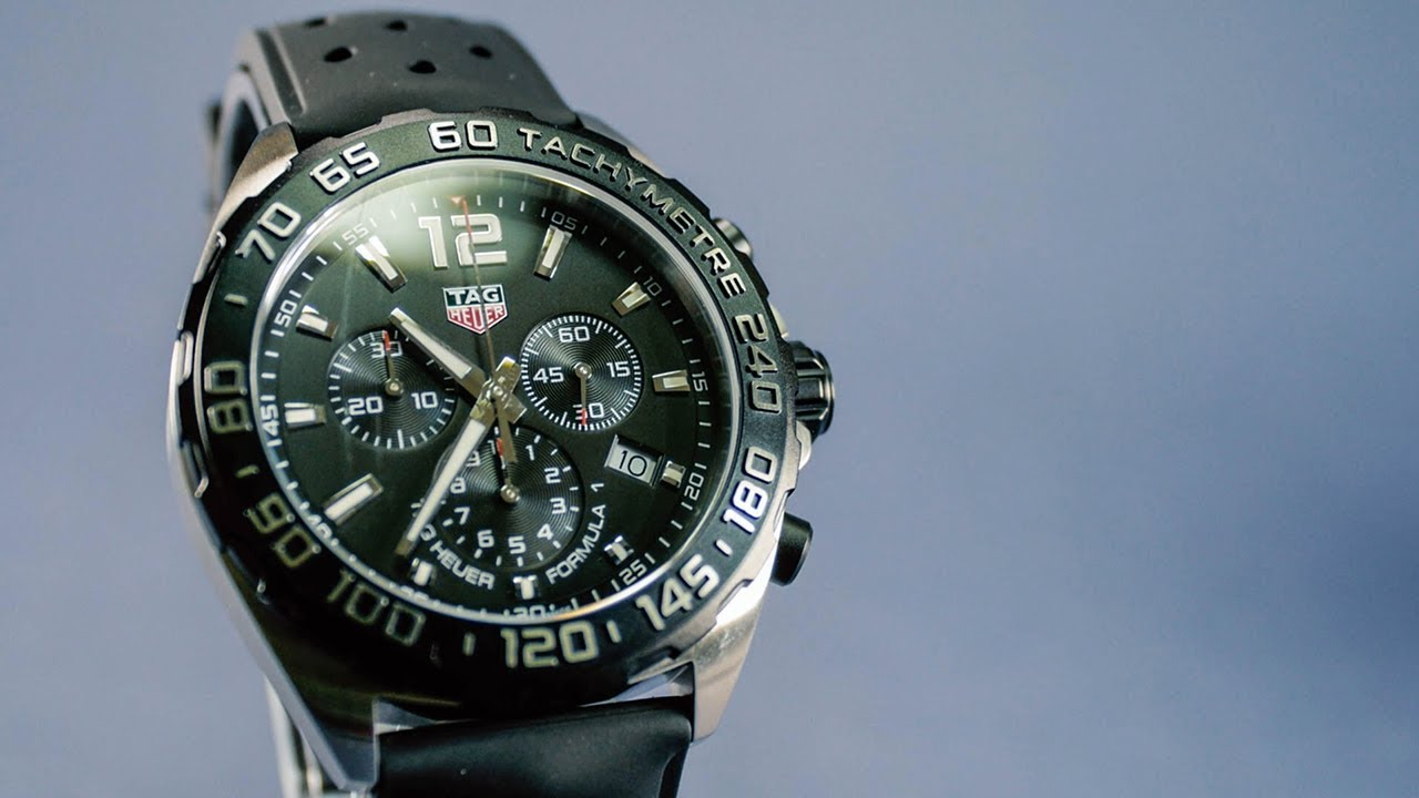 b39994b049c5 TAG Heuer Formula 1 Chronograph CAZ1010.FT8024 - Unboxing. Iconic Watches