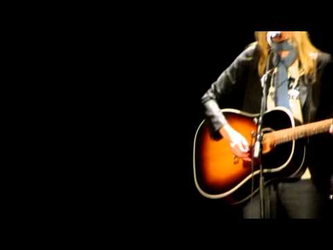 """Aimee Mann """"It's Not"""" LIVE at Wilshire Ebell Theatre"""