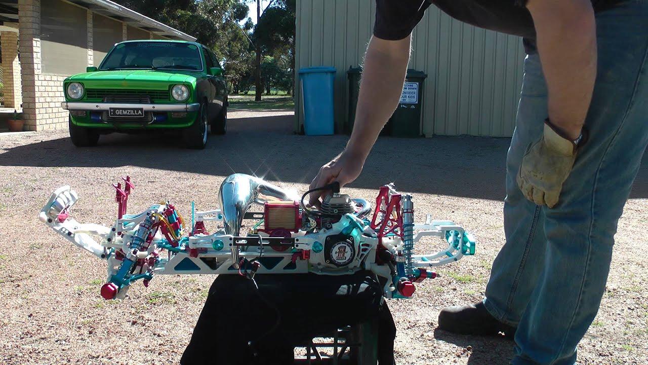 Hpi Baja Custom Build Evel Knievel Tribute Bug First