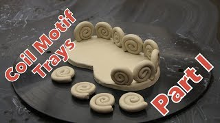 How to make a spiral coil motif tray Part I