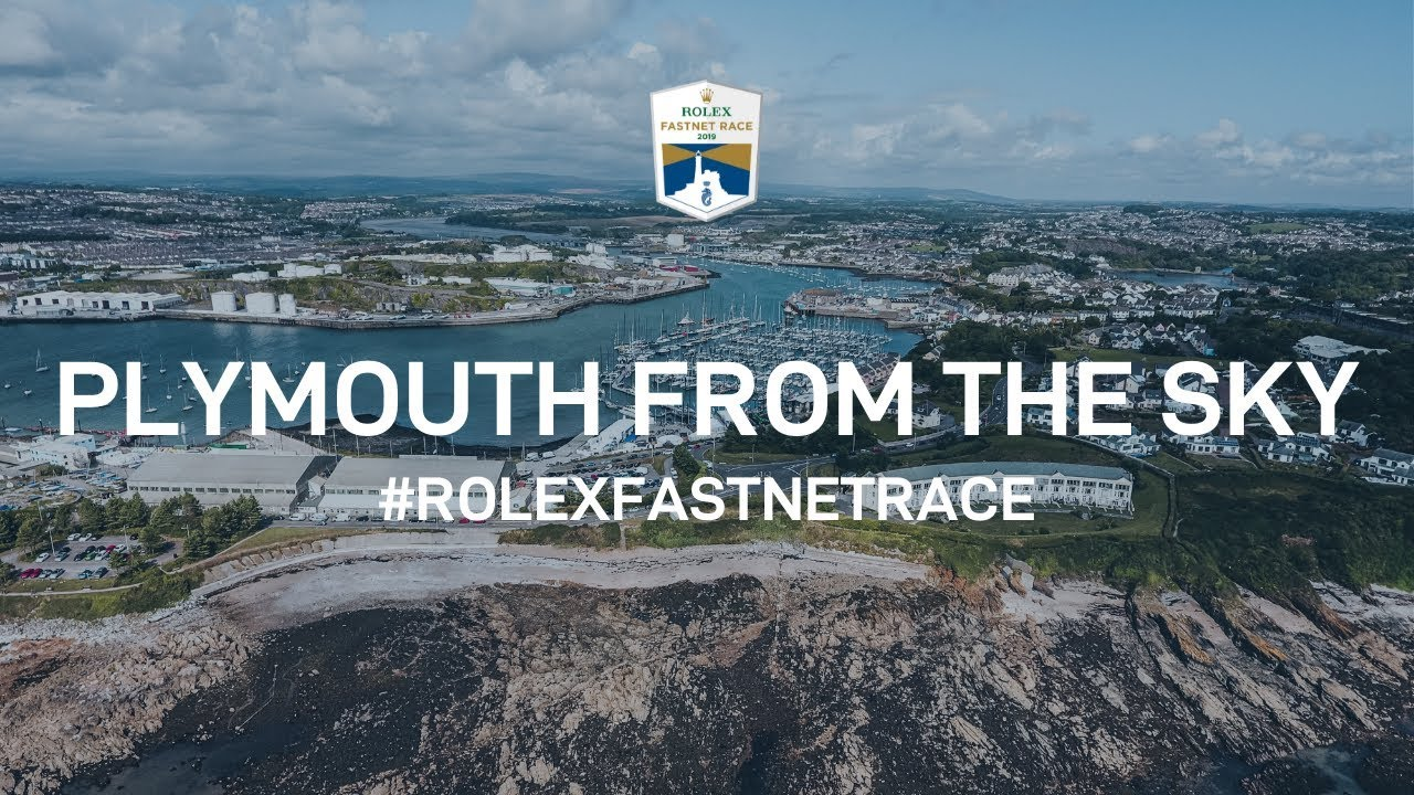 Plymouth Yacht Haven From The Sky | Rolex Fastnet Race