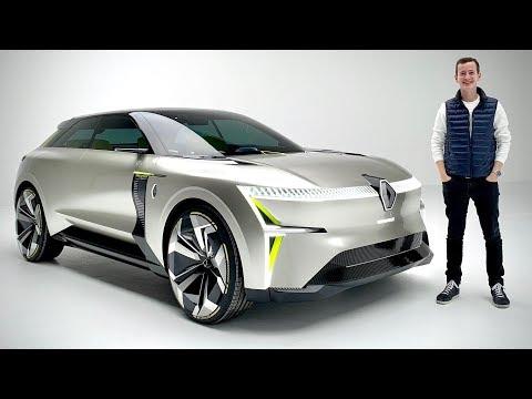 INCROYABLE! Une voiture qui CHANGE DE LONGUEUR! Concept Rena