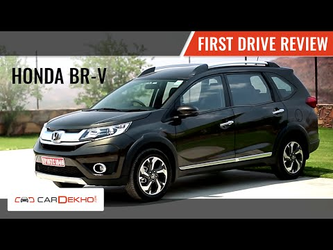 Honda BR-V | First Drive Review | 2016
