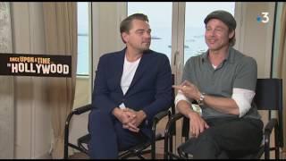 Festival de Cannes : Entretien avec Leonardo DiCaprio et Brad Pitt à l'affiche de Tarantino