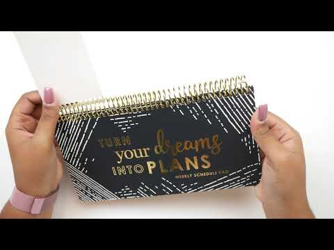 NEW Erin Condren Luxe Weekly Schedule Pad + All About Pre-Planning And Why I Pre-Plan