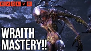 WRAITH MASTERY!! vs. Hard Hunters - Evolve Gameplay Walkthrough - SP - Part 9!! (PC 60fps HD)