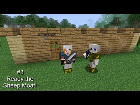 Minecraft Kind Arthageddon #3, Ready the Cow Moat!