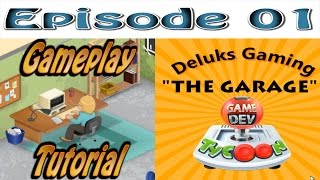 """Game Dev Tycoon - Episode 1 - """"The Garage"""" - How to make the best games! Tutorial and Gameplay."""