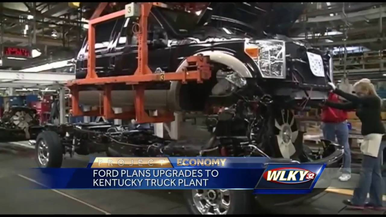 Ford files plans of upgrading Ford Truck Plant