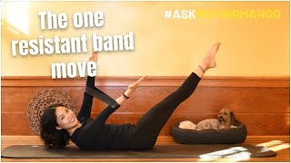 The one resistant band move you need to try | #AskMovingMango