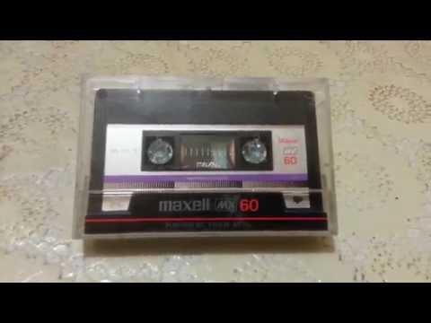 аудиокассета maxell mx60,metal,(compact cassette)