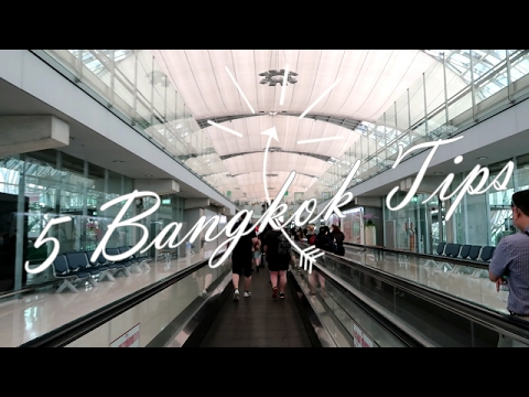 5 Bangkok Travel Tips You Should Know (How to Get Out of Airport, Where to Exchange Money, Etc)