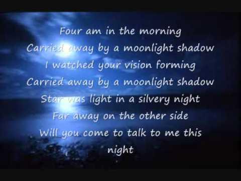 mike oldfield - moonlight shadow.