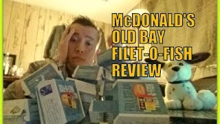 McDonald's Old Bay Filet-o-Fish Review!  The BEST thing Evahh!!