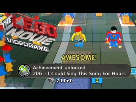 The Lego Movie Videogame - This Is My Jam & I Could Sing This Song For Hours Achievement/Trophy Guid