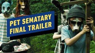 Pet Sematary: Final Trailer (2019) John Lithgow, Jason Clarke