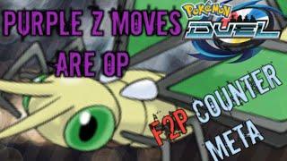 F2P Counter Meta Deck OP Purple Z moves Pokemon Duel