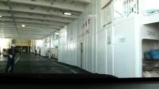 汽車渡輪由熊本去島原