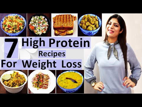 7-high-protein-recipes-for-weight-loss-for-a-week-in-hindi-|-pure-vegetarian