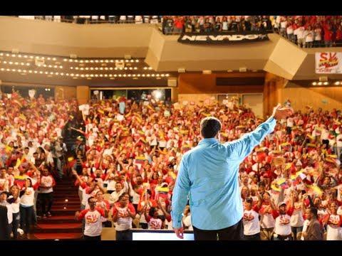 Encuentro nacional del Movimiento Somos Venezuela con Nicolás Maduro