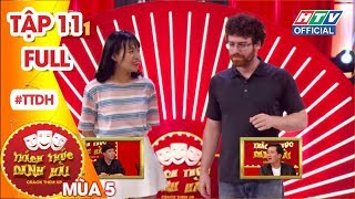 THÁCH THỨC DANH HÀI 5 | Thành-Giang cười bò trước thí sinh sún răng đòi nợ | TTDH #11 FULL | 26/12