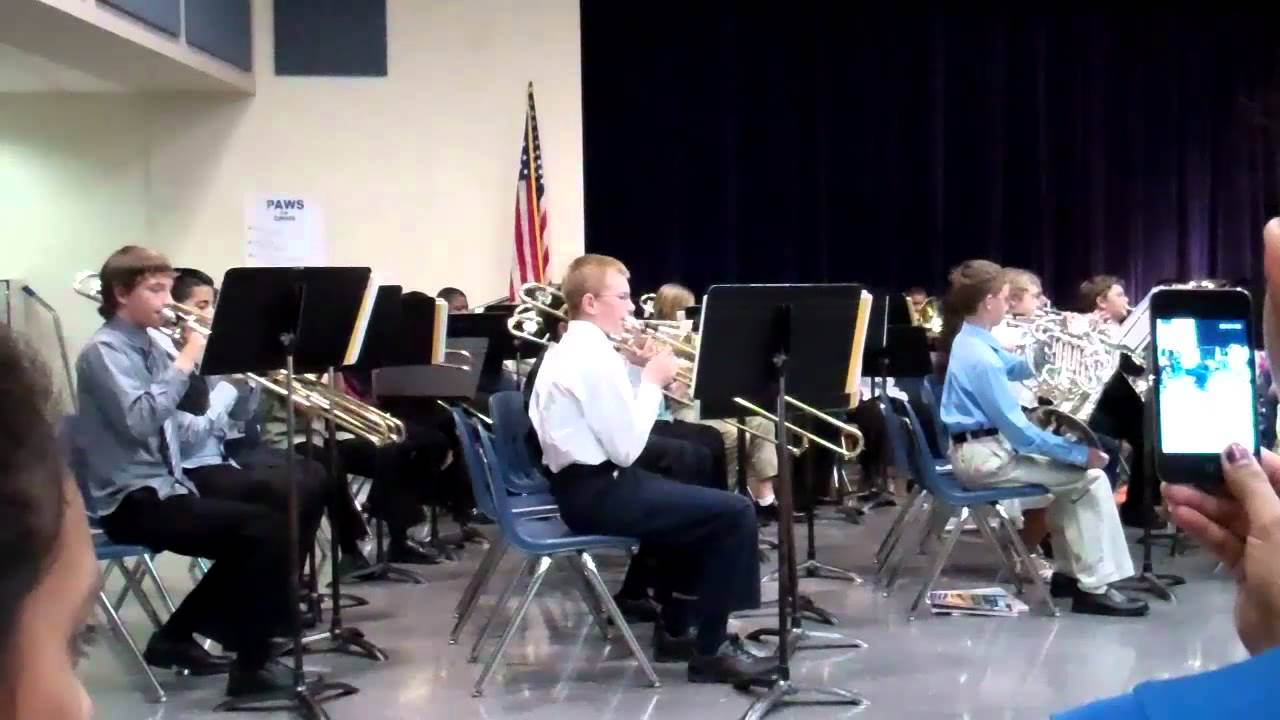 Truitt Middle School Band 6th Grade Spring Concert