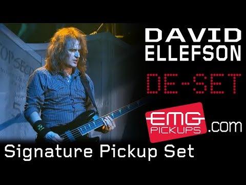 David Ellefson Signature Bass Pickup Set on EMGtv