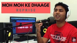 Moh Moh Ke Dhaage (Reprise) | Dum Laga Ke Haisha | Mukesh Rathore (Cover)
