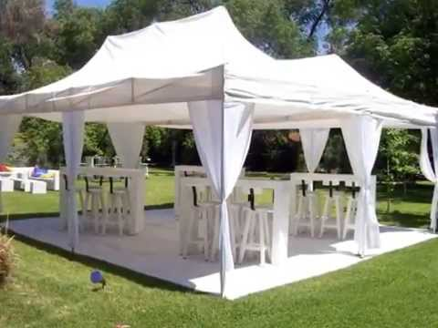 Carpa plegable spider doovi - Carpas para jardin ...