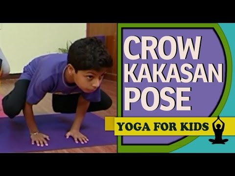 kids yoga  crow pose kakasana  balance routine  youtube
