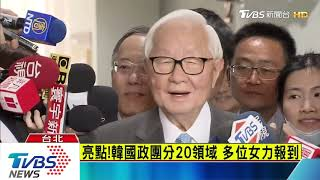 韓國瑜國政顧問團 張善政、李鴻源入列