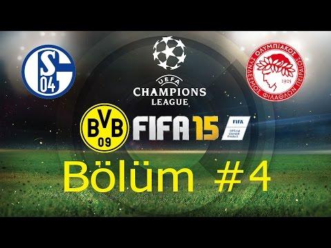 Fifa 15 Kariyer Modu (PS4) - Dortmund - Bölüm #4 | Ulan Weidenfeller !