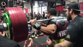 Larry Williams New All Time World Record 985 kg 2171 lbs Raw Total at 242 at SPF Record Breakers
