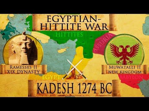 Battle of Kadesh 1274 BC (Egyptian - Hittite War) DOCUMENTARY
