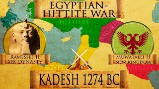 Zapętlaj Battle of Kadesh 1274 BC (Egyptian - Hittite War) DOCUMENTARY | Kings and Generals