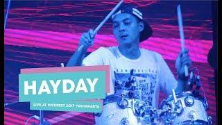 [HD] Hayday - Kita dan Dunia (Live at Kickfest 2017 Yogyakarta, Oktober 2017)