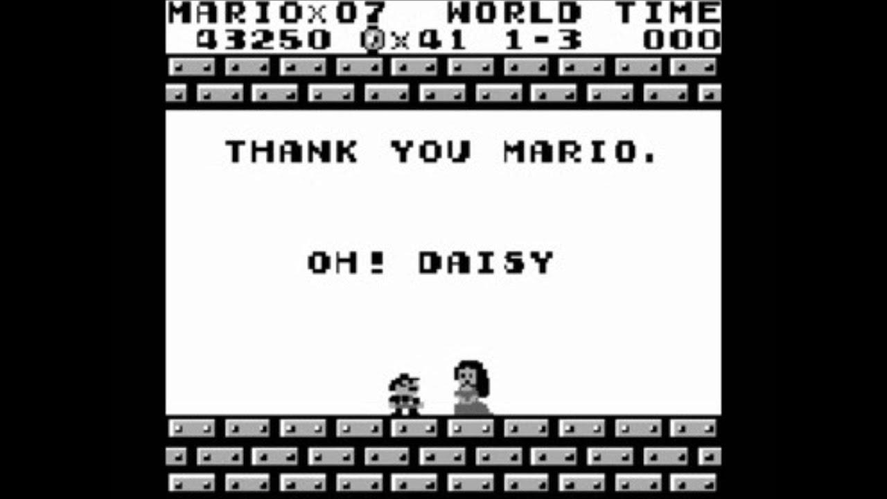 Super Mario Land Music Gb Oh Daisy Youtube