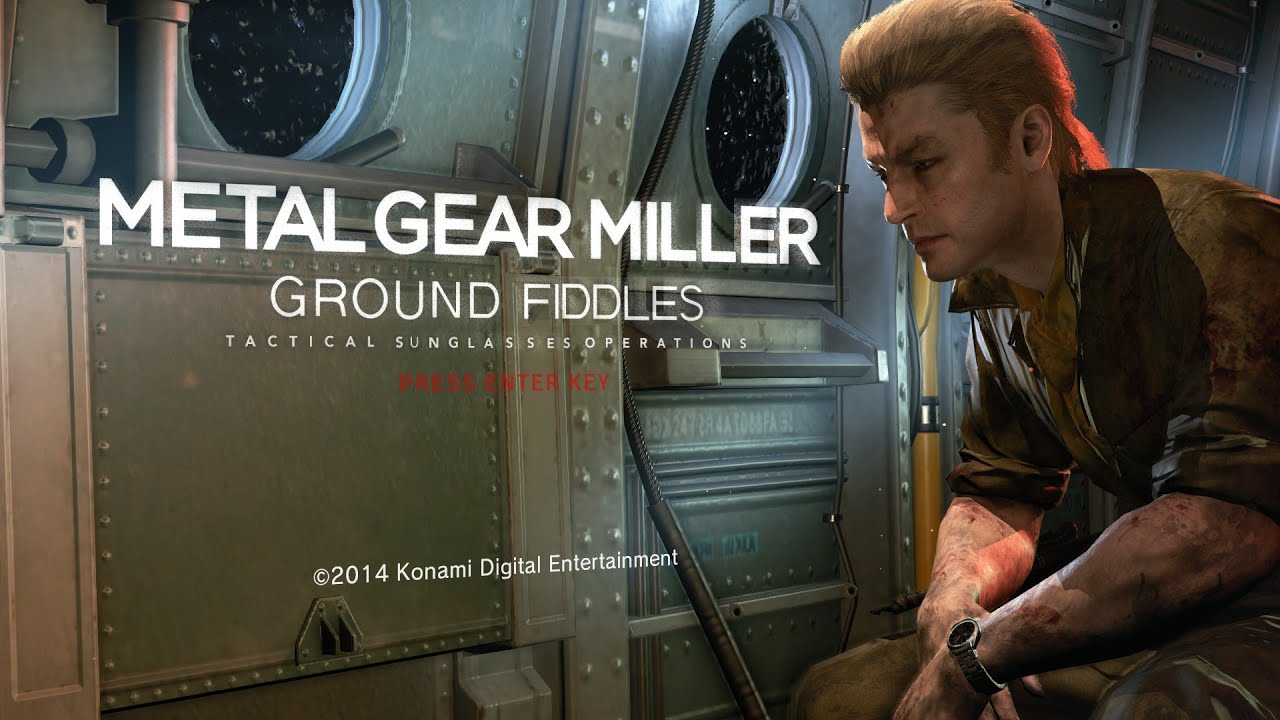 Metal Gear Miller Ground Fiddles Did You Like My Sunglasses Edition Youtube All in the name of averting catastrophe from. metal gear miller ground fiddles did you like my sunglasses edition