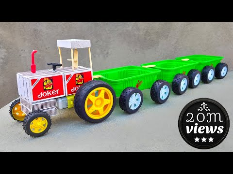 How To Make Matchbox Train At Home Diy Toy 🚝