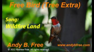 "Andy B. Free - Wildfire Land - Soft Rock Song - from the album ""Free Bird (Tree Extra)"""