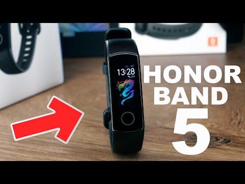 Обзор Honor Band 5 - первые впечатления и скромное сравнение с Mi Band 4
