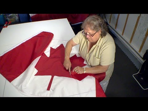 Demand For Canadian Flags Puts Retirement On Hold