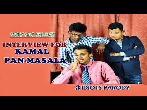 Engineer's job interview for tobacco company | 3 idiots parody | Funky four